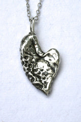 Silver hearts jewelry - So proud of you