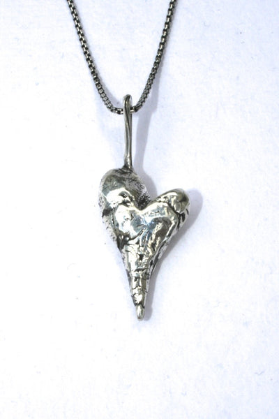 Silver hearts jewelry - Choose to believe in you