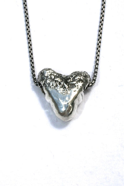 Silver hearts jewelry - Just right