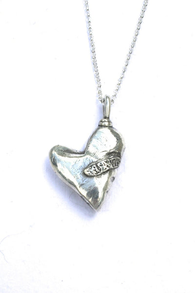 Silver hearts jewelry - Healing in Process
