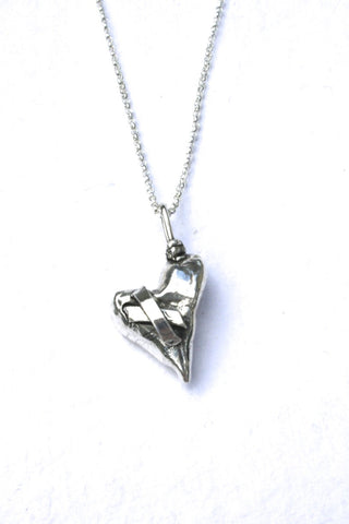 Silver hearts jewelry - Awarded
