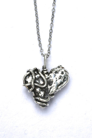 Silver hearts jewelry - Interesting