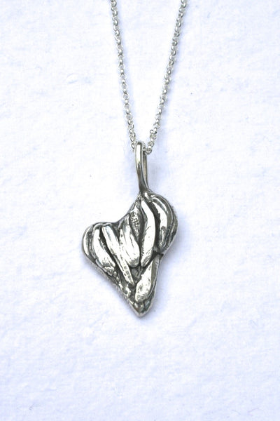 Silver hearts jewelry - Emerging
