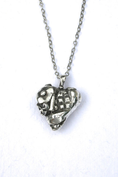 Silver hearts jewelry - Changed