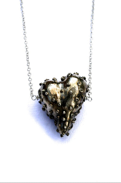 Silver hearts jewelry - Self-Protection