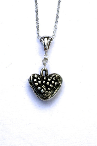 Silver hearts jewelry - Truth Emerges
