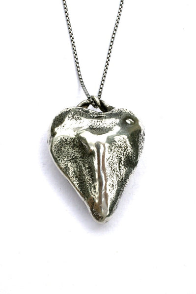 Silver hearts jewelry - Backbone