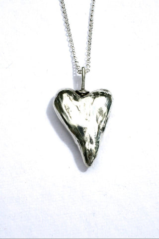 Silver hearts jewelry - Clarified
