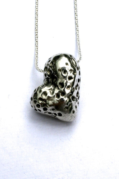 Silver hearts jewelry - Different