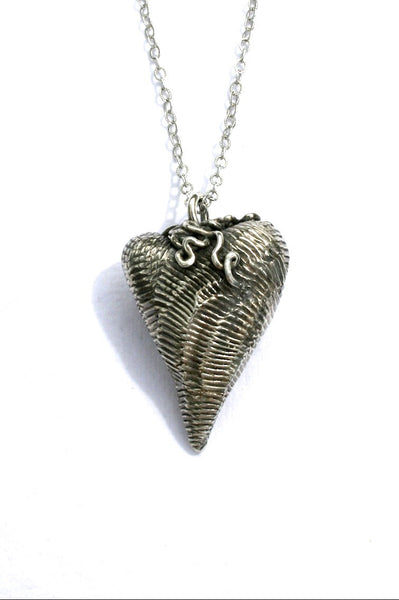 Silver hearts jewelry - Proud