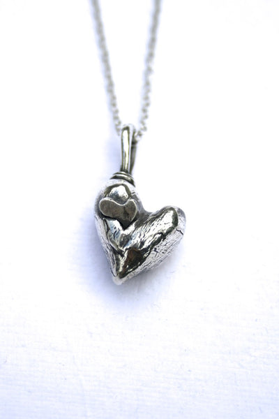 Silver hearts jewelry - Always
