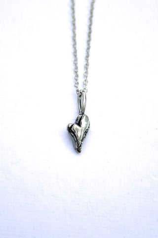 Silver hearts jewelry - Forever
