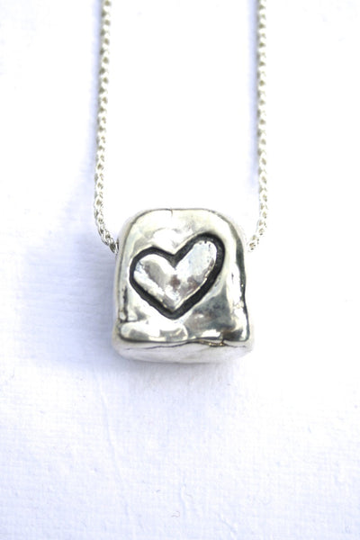 Silver hearts jewelry - Solid