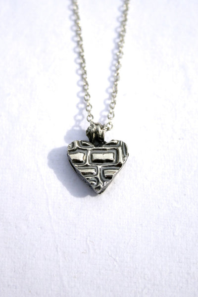 Silver hearts jewelry - Built Together