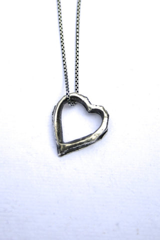 Silver hearts jewelry - Missing