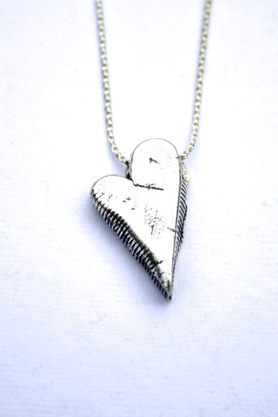 Silver hearts jewelry - Strong