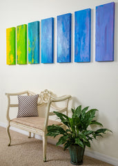 """Gradient"" - Painting by Renee Harp (Alternate view)"