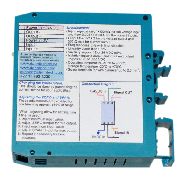 Eco-Line Signal Converter - Custom Selection