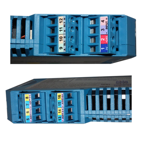 Four Output Process Signal Splitter
