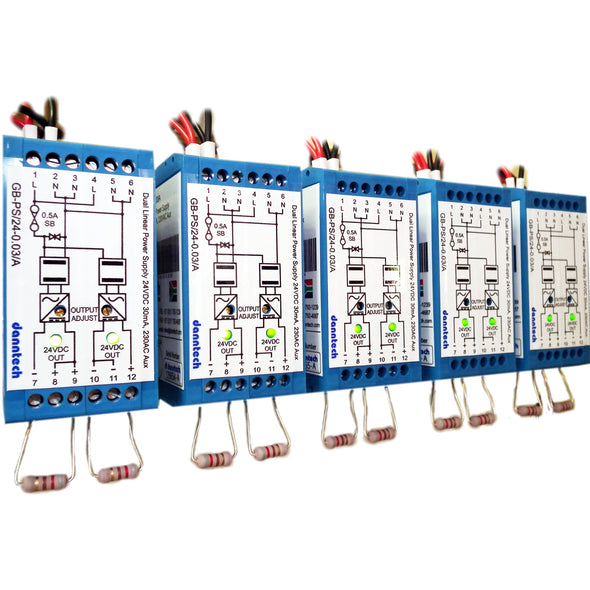 Dual Output Linear Power Supply