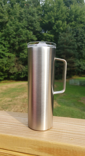 20 Ounce Skinny Tumbler w/Handle