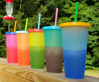 Color Changing Tumblers - 24 oz. DARK