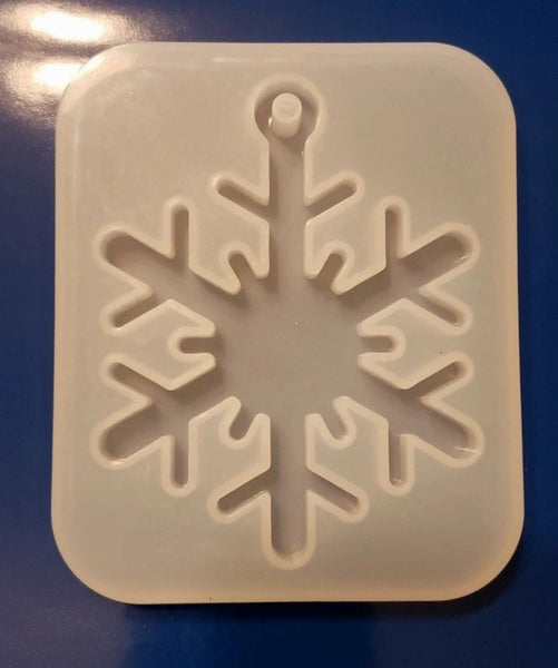 Snowflake Ornament Mold #1
