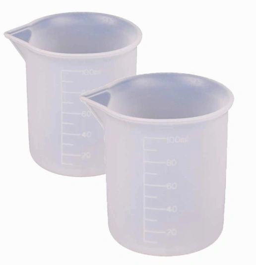 Silicone Measuring & Mixing Cups (100ml)