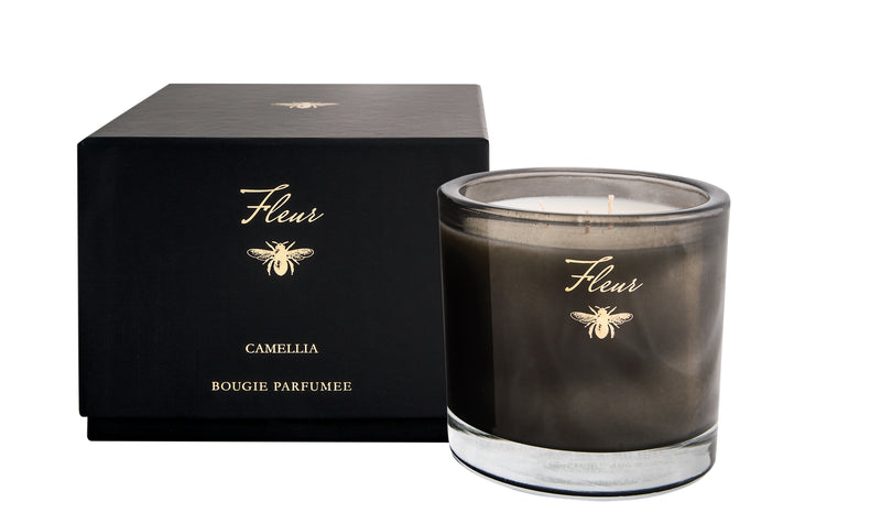 Camellia Three Wick Candle