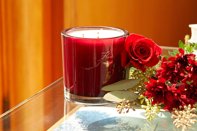 Modern Holiday Three Wick Candle