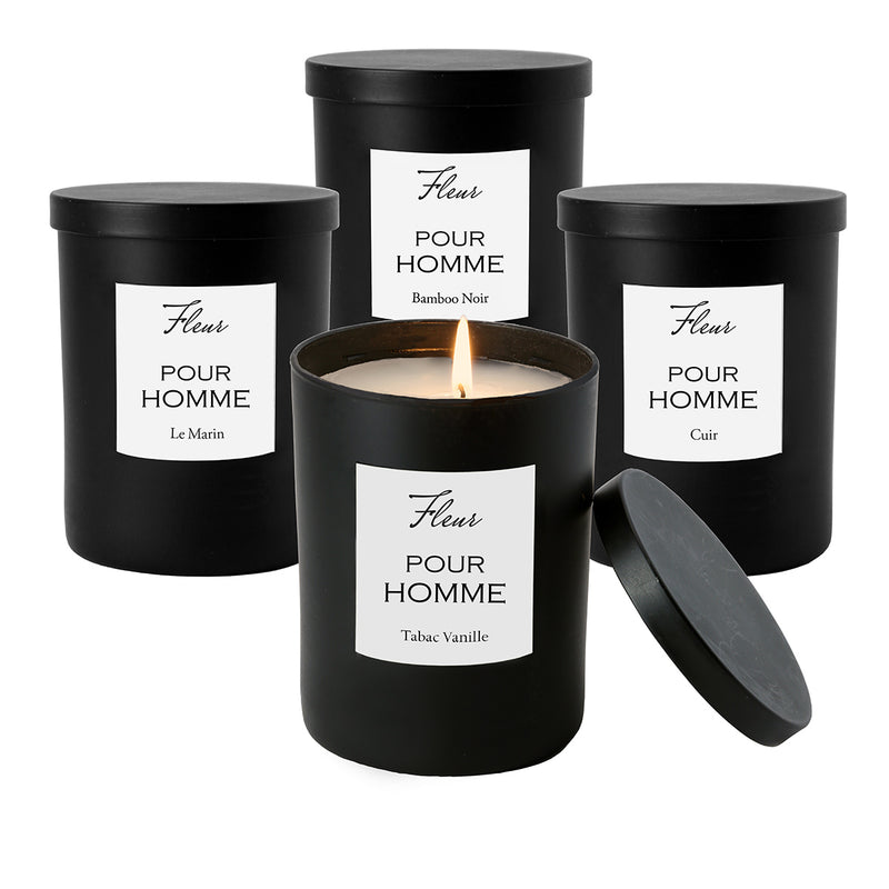 Bamboo Noir Single Wick Candle