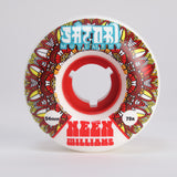 54mm Neen Williams Native Cruiser 78a White Urethane