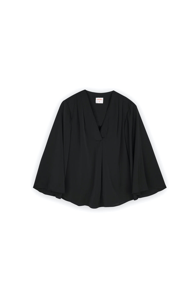The Nari Women Butterfly Blouse - Black