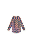 The Teratai Women Boxy Blouse - Secret Pond