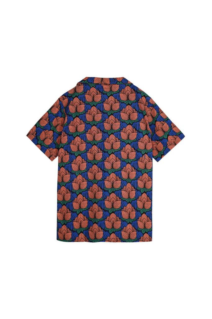 The Teratai Men Cuban Shirt - Secret Pond