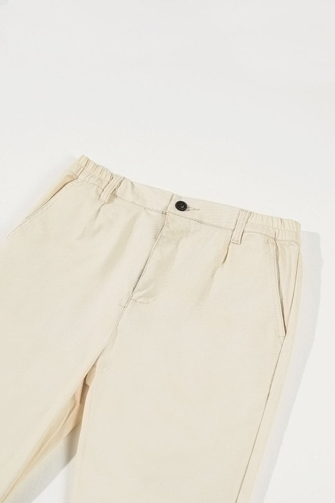 The Perfect Men Slim Fit Pants - White