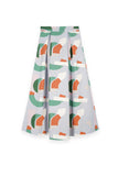 The Bangun Women A-Line Skirt - Lumi Print