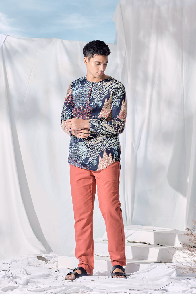 The Langit Men Kurta - Gelam