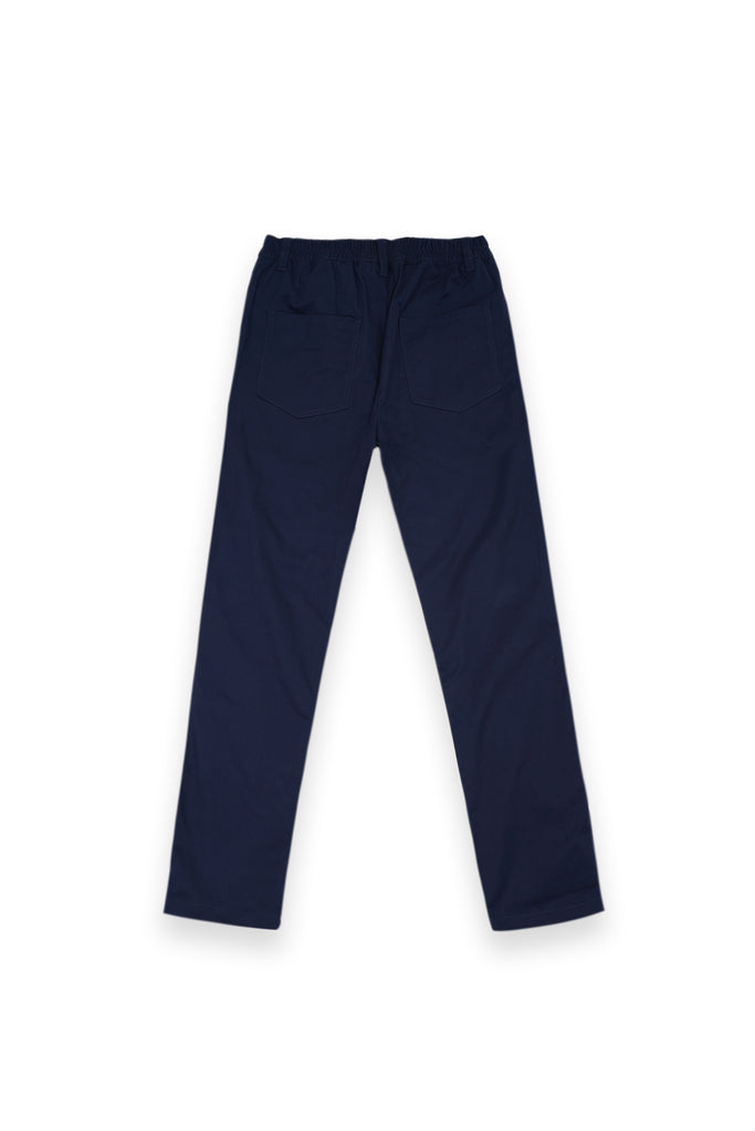 The Bangun Men Slim Pants - Navy Blue
