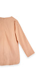 The Bangun Women Pair Pockets Kurti - Peach
