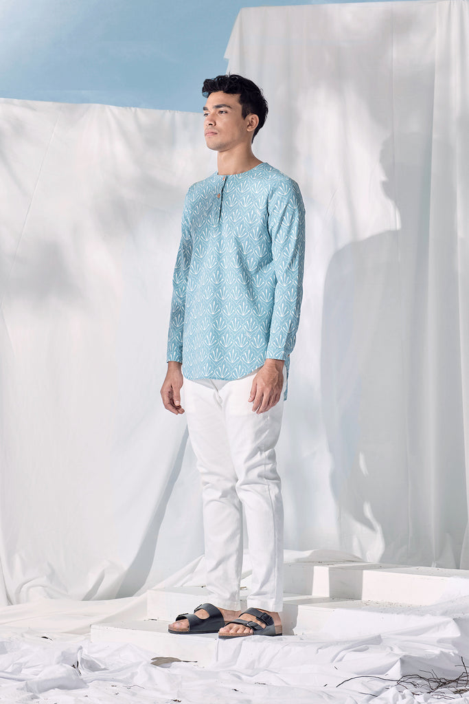 The Langit Men Kurta - Petani