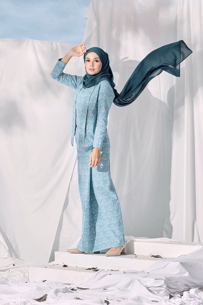 The Langit Women Folded Skirt - Petani