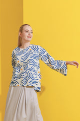 The Kurnia Women Relaxed Blouse - Alir