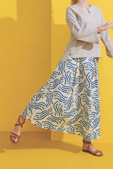 The Kurnia Women A-Line Skirt - Alir