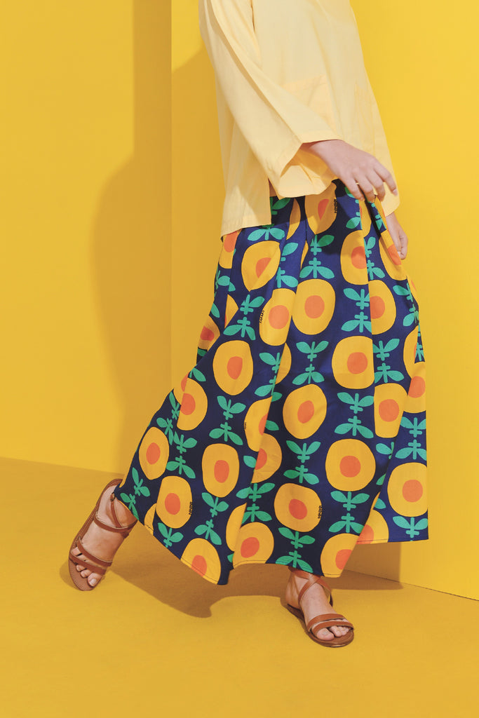 The Kurnia Women A-Line Skirt - Sinar