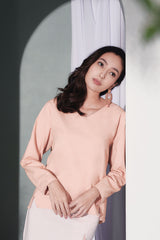 The Bayang Women Kite Blouse - Peach