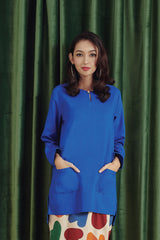 The Rona Women Kurti - Royal Blue