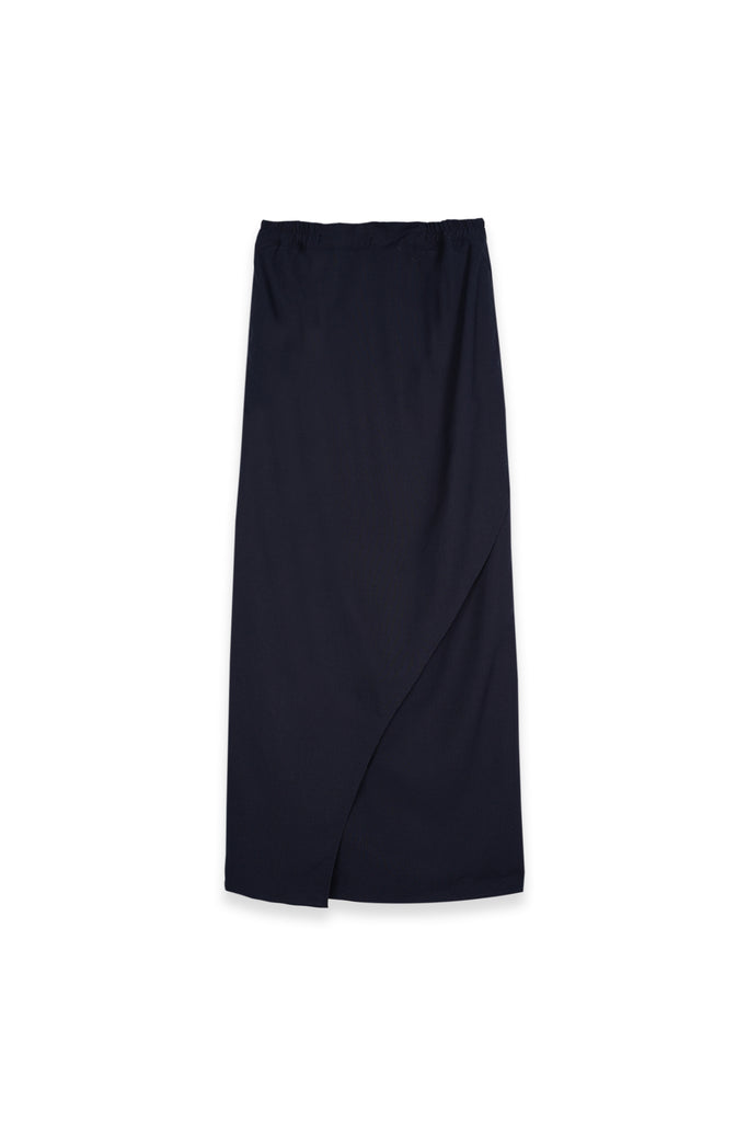 The Teratai Women Tulip Skirt - Navy Blue