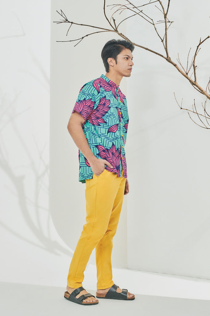 The Timur Men Oriental Shirt - Hana