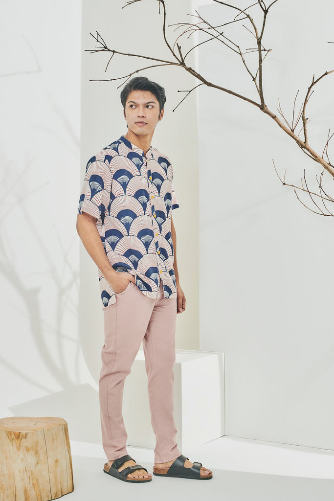 The Timur Men Oriental Shirt - Ogi